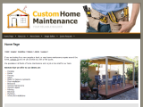 Custom Home Maintenance